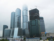 Business district of Moscow Moskva-city