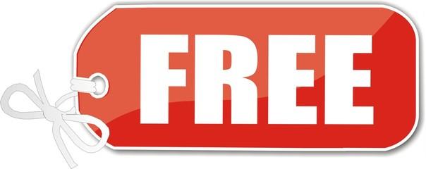 étiquette free