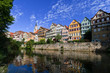 Tuebingen am Neckar, Germany, typical view