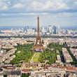 Aerial view of the Eiffel Tower - 45505409