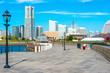 Yokohama City Skyline on a Clear Summer Day