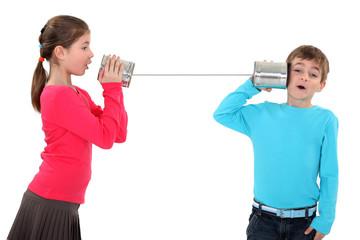 Tin can telephone