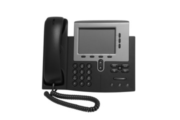 Black IP Phone