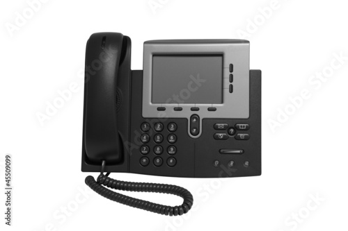 Black IP Phone