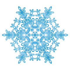 Schnee, Flocke, Eiskristall, Kristall, Eisblume, Winter, Symbol
