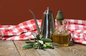 olio d'oliva dal frantoio