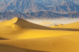 desert Sand Dunes in Death Valley