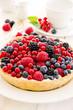 Tarte mit Frischen Früchten