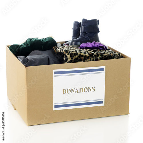 Charity Clothing Box