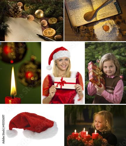 Collage für Weihnachten