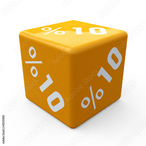 3d cube sale discount percent business