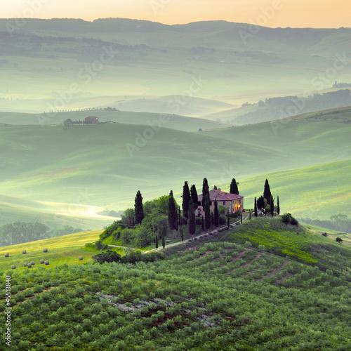 Toscana, paesaggio.