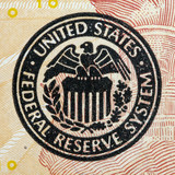 federal reserve system sign on the ten dollar bill