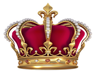 Gold crown