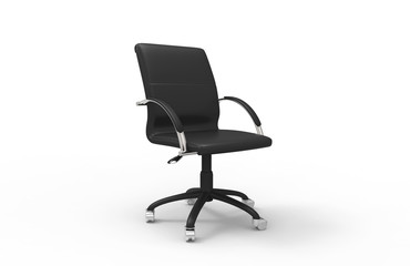 Leather Office Chair 02
