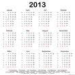 Kalender 2013 (I)