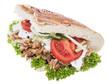 Kebab isolated on white