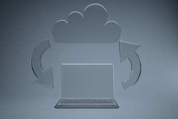 Clouding service with computer