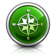 crystal green compass