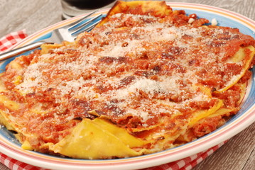 LASAGNE WITH BEEF