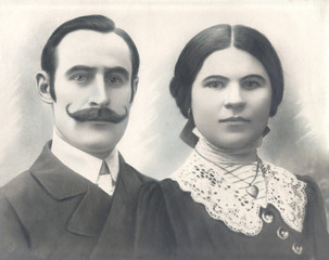 Husband and wife of 1920