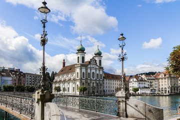 Luzern Rathaussteg, Schweiz