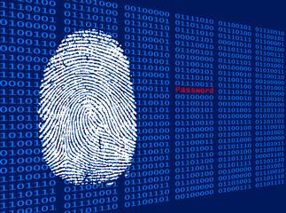 Digitaler Fingerabdruck - Password