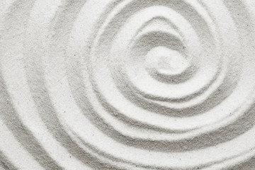 Spiral in the sand