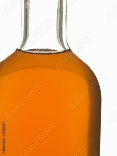 Bottle of whisky (close-up)