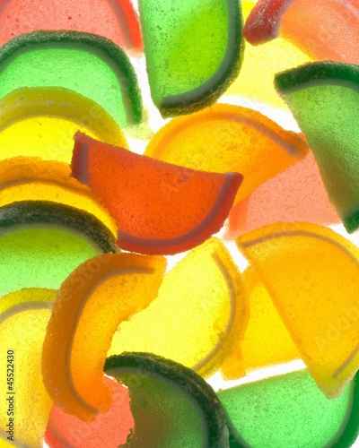 Assorted Jelly Fruit Slice Candies