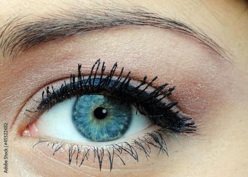 Fototapeten,auge,auge,blau,eye