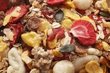 Fruit muesli (full-frame)