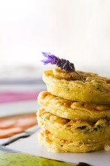 Pataniscas de bacalhau (Fried cod cakes, Portugal)