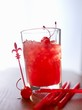 'Zombie' (cocktail) with rum and fruit juice