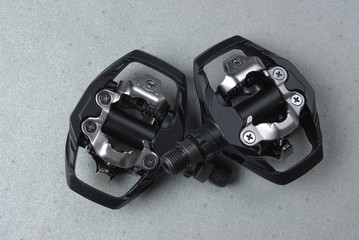 Mountain bike clipless pedals