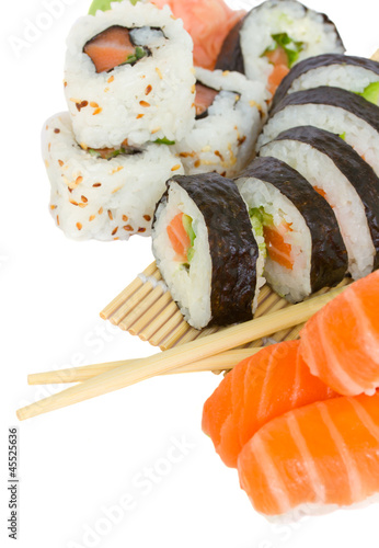 sushi and rolls © neirfy