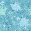 Nature background, seamless pattern