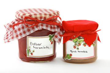 Eingekochte Marmelade