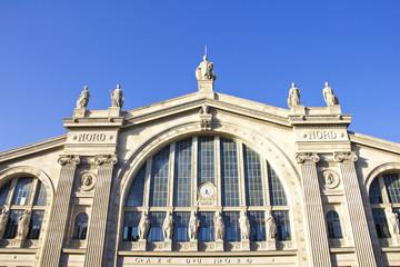Gare du Nord, train station in Paris
