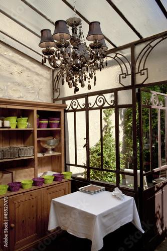 Restaurant v randa bistrot verri re architecture for Tarif verriere interieur
