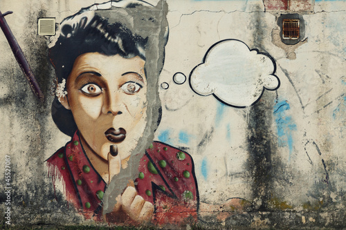 Graffiti-Portrait - 45527087