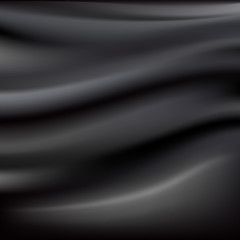 Black Abstract Cloth