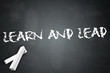 "Blackboard ""Learn And Lead"""