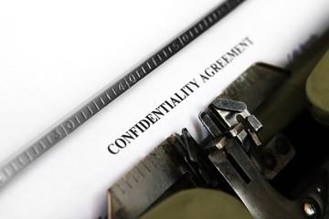 Confidential agreement