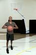 Black Man Basketball Player