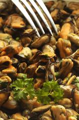 Moules à la provençale Mejillones a la provenzal