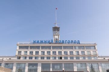 Речной вокзал в городе Нижний Новгород