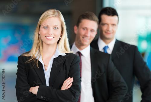 Freundliche Business-Gruppe