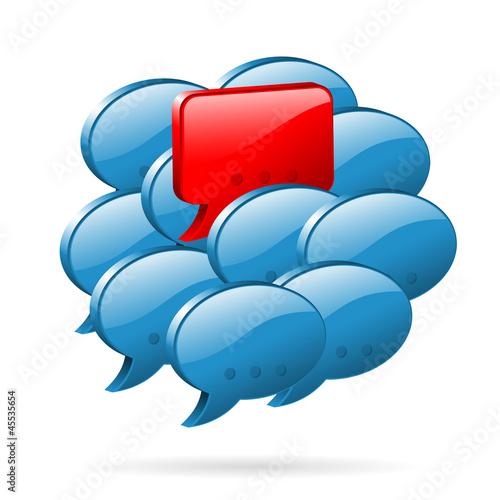 Special Opinion - Social Media Concept