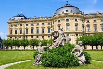 baroque palace - Residenz Würzburg Germany